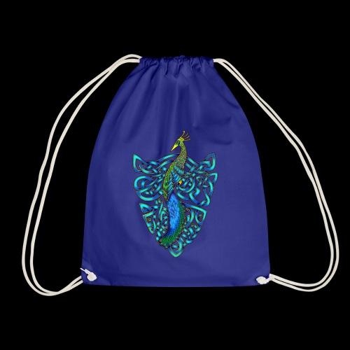 Peacock - Drawstring Bag