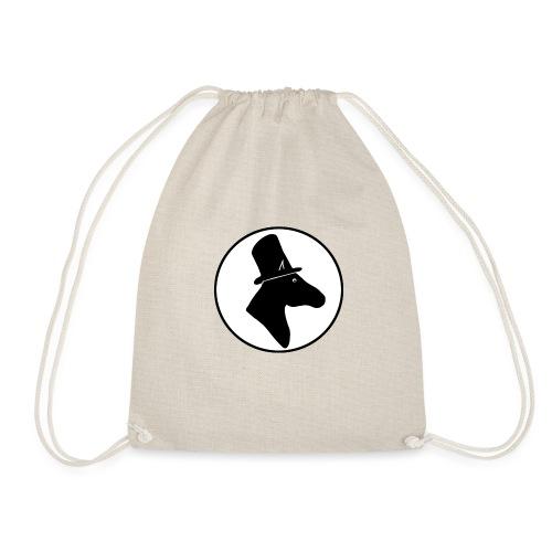 Herr Pferd Logo - Turnbeutel