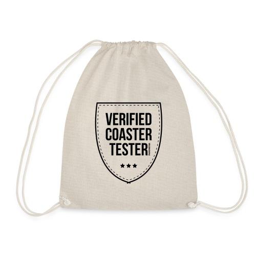 Badge de testeur de montagnes russes vérifié - Sac de sport léger
