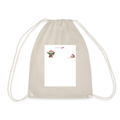christmas!!! - Drawstring Bag