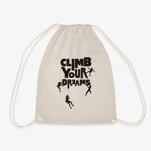 Scale your dreams - Drawstring Bag