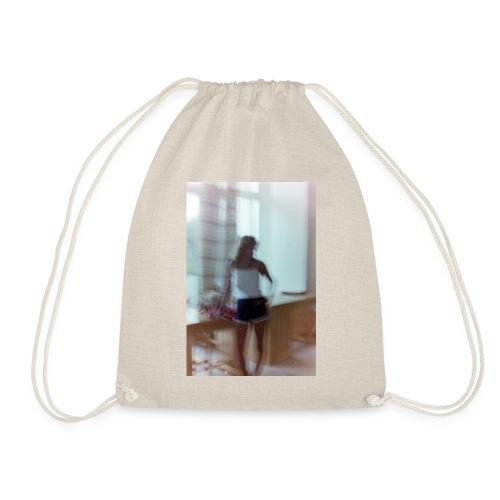 Mädchen in Shorts - blurred vintage photography - Turnbeutel