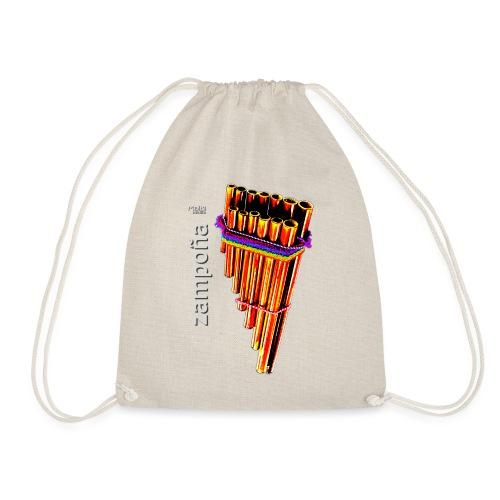Zampoña clara - Drawstring Bag