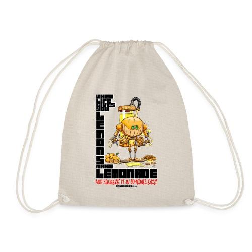 Lemonade Robot!🍋 - Sportstaske
