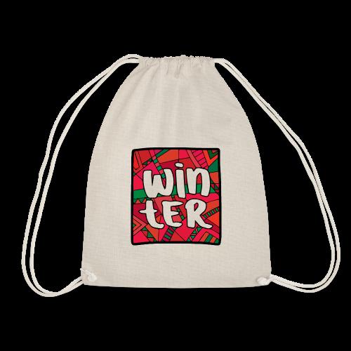 WINTER IN CHRISTMAS - Drawstring Bag