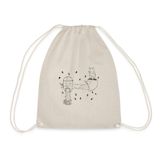 heads opinion - Drawstring Bag