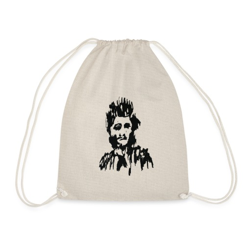 BO'BO' Mysterious Face - Drawstring Bag