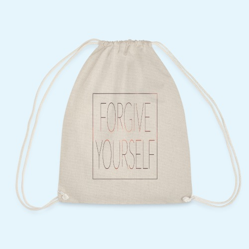 FORGIVE YOURSELF - Mochila saco