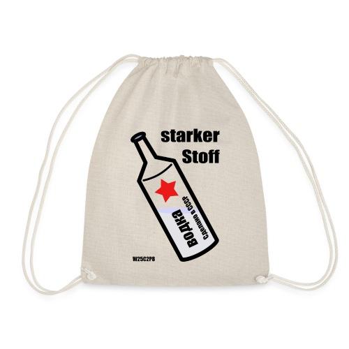 Wodka - starker Stoff - Turnbeutel