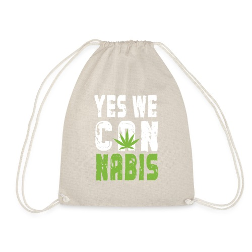 Weed T-shirt - Drawstring Bag