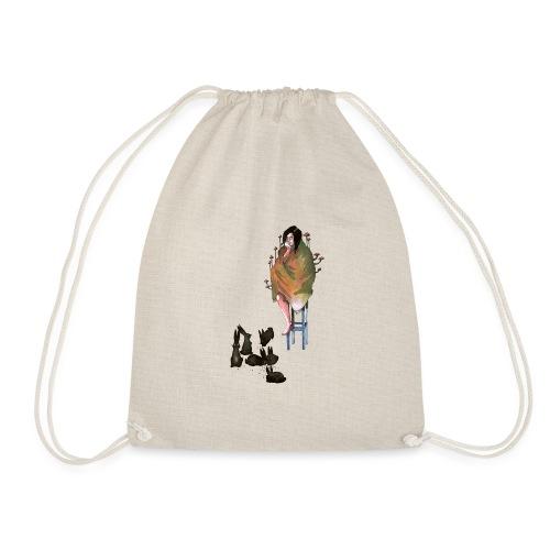 home alone - Drawstring Bag
