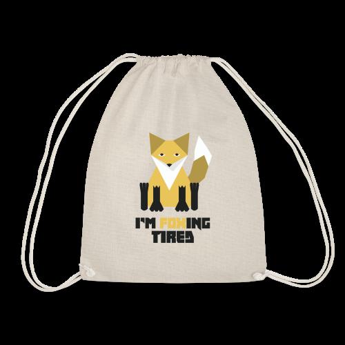 Foxing Tired - Edition Jaune - Sac de sport léger