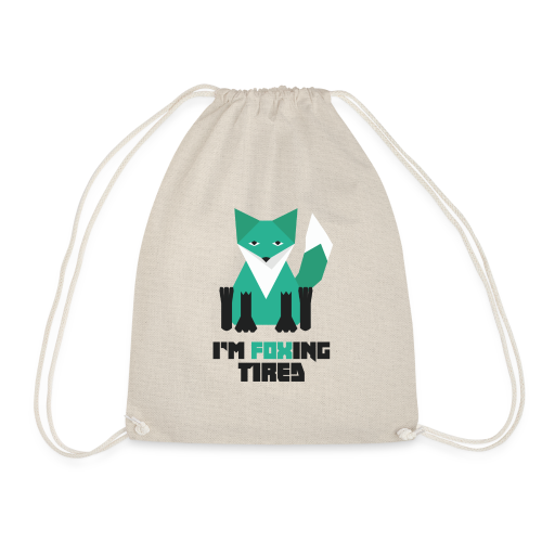 Foxing Tired - Edition Turquoise - Sac de sport léger