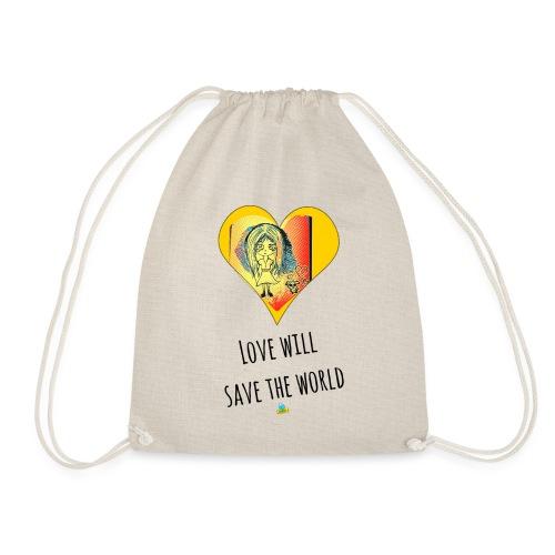 Love will save the world - Sacca sportiva