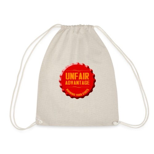 UFAV Red Bottlecap - Drawstring Bag
