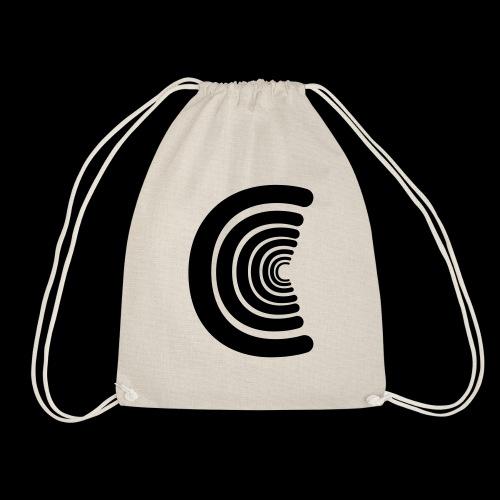 calm logo - Drawstring Bag