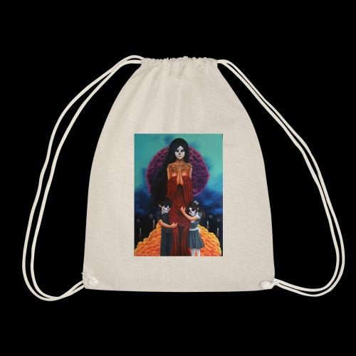 los fieles difuntos - Drawstring Bag