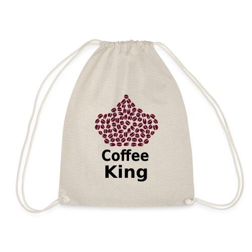 Coffee King T-shirt - Love Coffee T-shirt - Drawstring Bag
