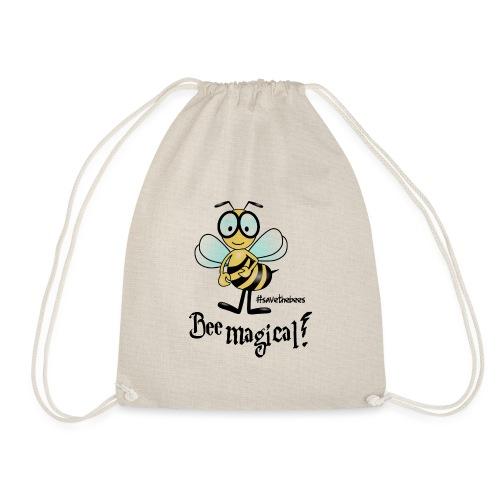 Bees10 - bees are magical | save the bees - Drawstring Bag