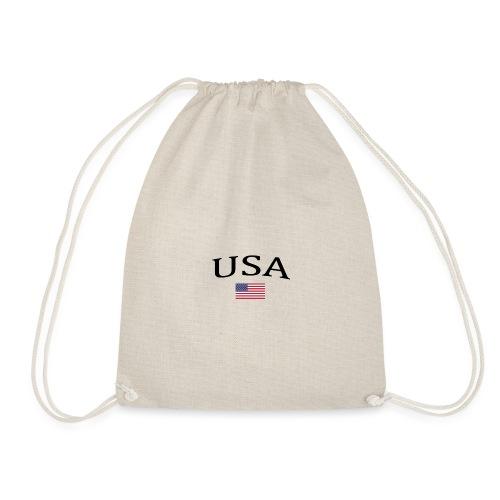 USA, America, Usamade, Trinidad, Laconte, American - Drawstring Bag