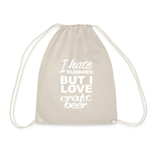 I Love craft beer - Gymtas