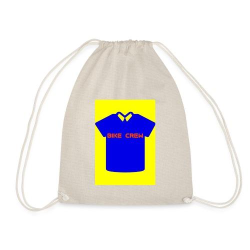 Bike Crew Merch (blau) - Turnbeutel