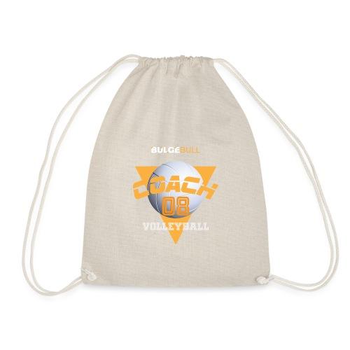 bulgebull volleyball - Drawstring Bag