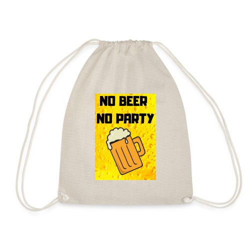 No beer no party - Sacca sportiva