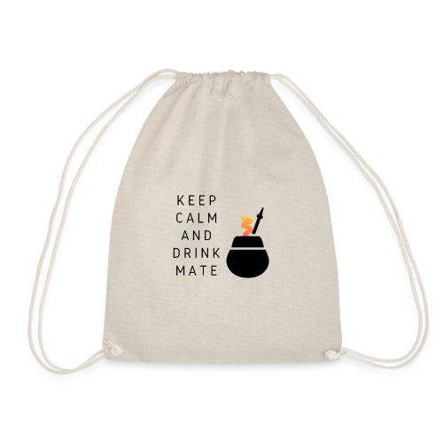KEEP calm and drink mate - Mochila saco