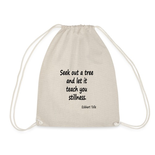 Tree for Stillness - Drawstring Bag