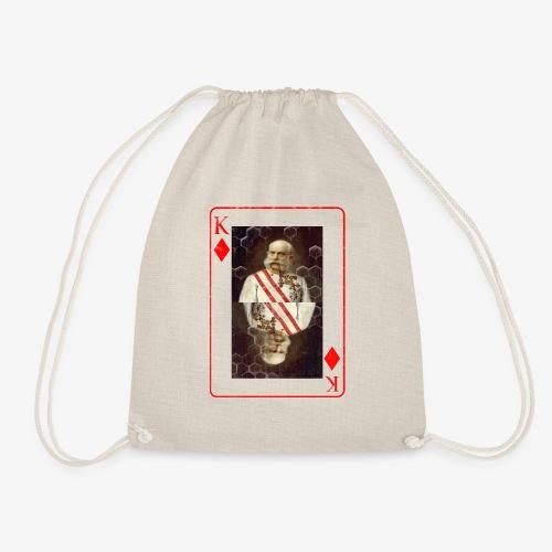 Kaiser Franz von Österreich spielkarte - Turnbeutel