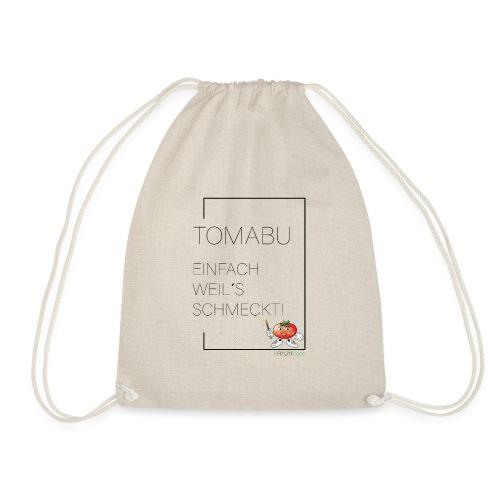 TomaBu Einfach weil´s schmeckt! - Turnbeutel