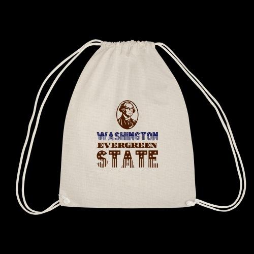 WASHINGTON EVERGREEN STATE - Drawstring Bag