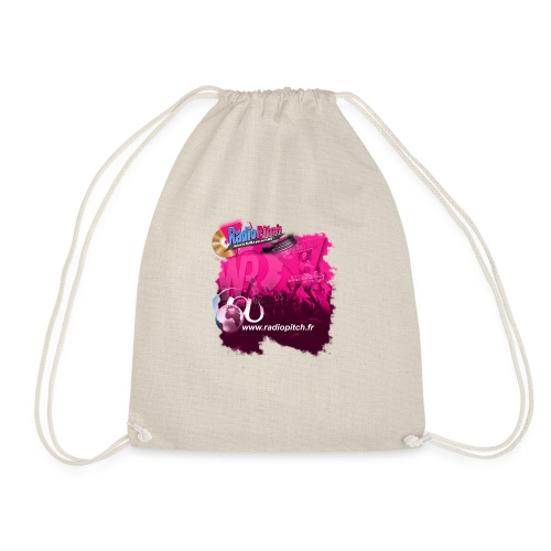 logo radiopitch vs wrecords fond rose copie - Sac de sport léger