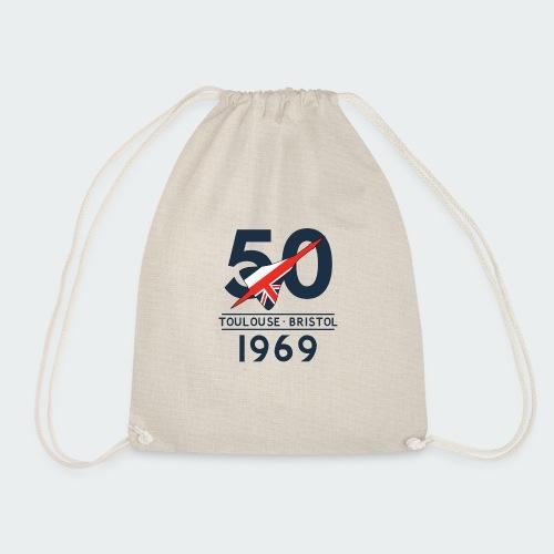 Concorde 50th Anniversary - Drawstring Bag