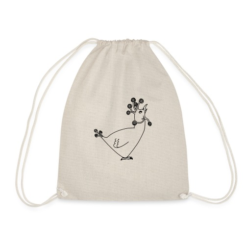 Cosmic Chicken - Drawstring Bag