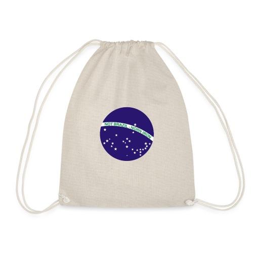 Not Brazil - Norn Iron (Brazil flag) - Drawstring Bag