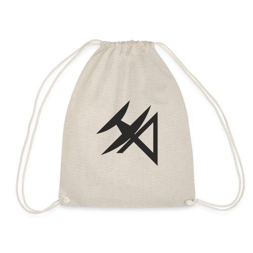 logo HA NEGRO - Drawstring Bag