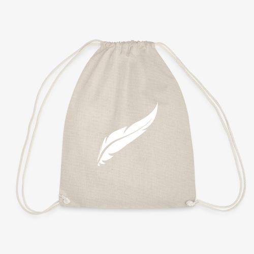 logo plume white - Sac de sport léger