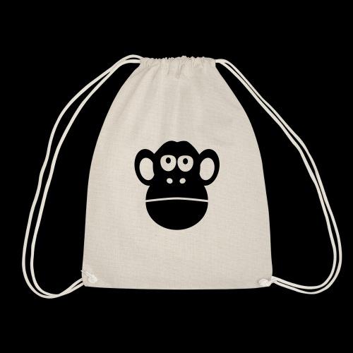 monkey ape singe - Drawstring Bag
