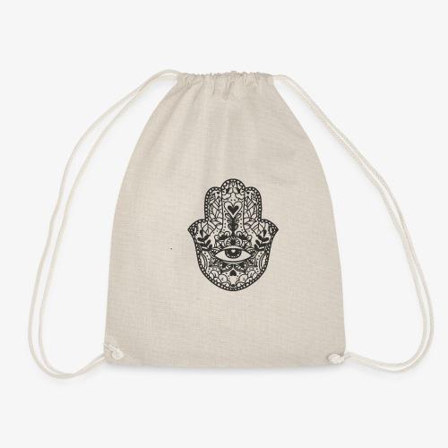 mandala4 - Drawstring Bag
