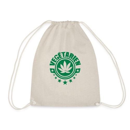 vegetarien feuille cannabis logo - Sac de sport léger