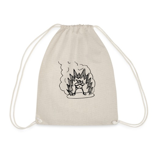 Whos A Chicken? - Drawstring Bag