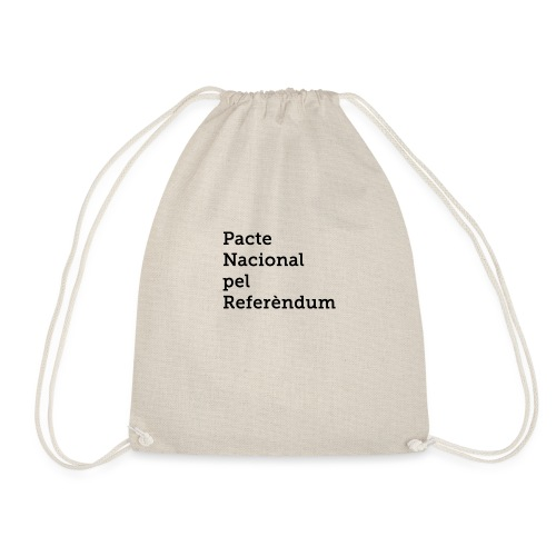 PACTE NACIONAL PEL REFERÈNDUM - Mochila saco