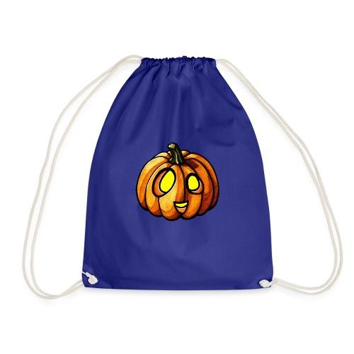 Pumpkin Halloween watercolor scribblesirii - Sportstaske