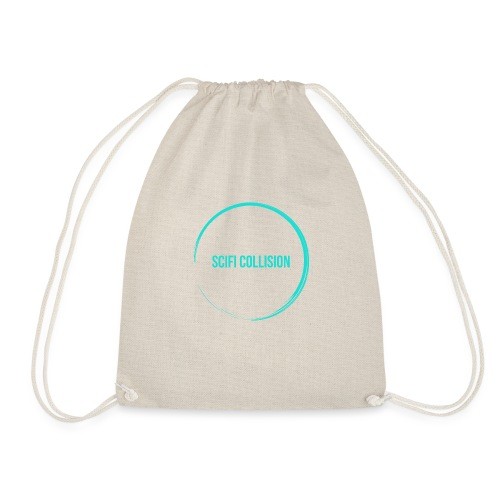 Sea Blue Logo - Drawstring Bag