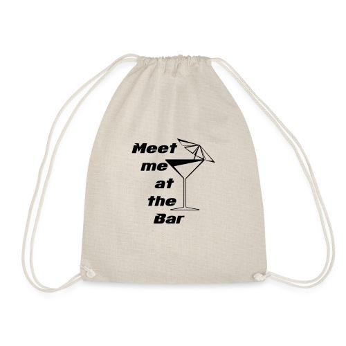 Meet me at the Bar - Turnbeutel