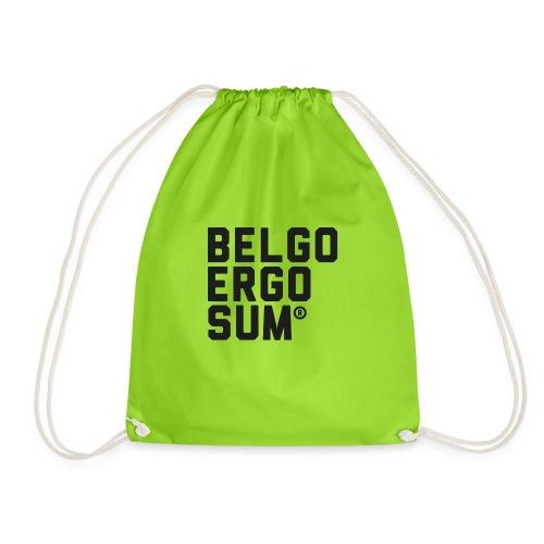 Belgo Ergo Sum - Drawstring Bag