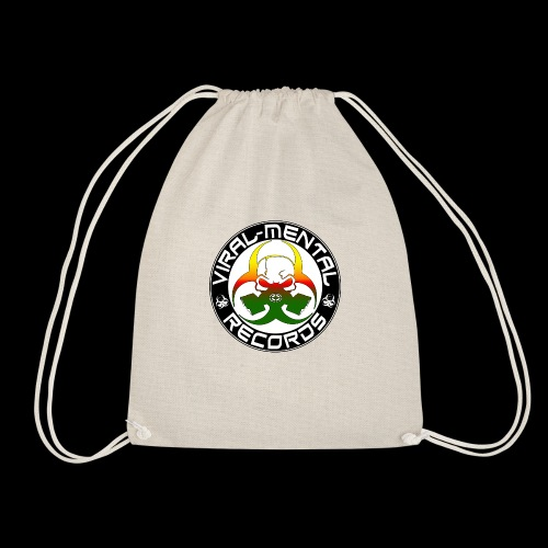 Viral Mental Records Logo - Drawstring Bag