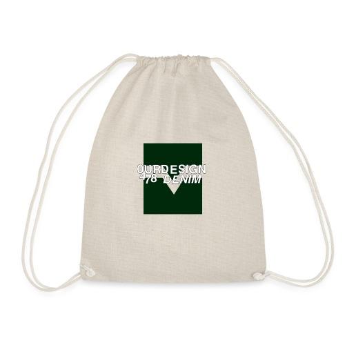 OD-ID: 004 The Green Crack - Drawstring Bag